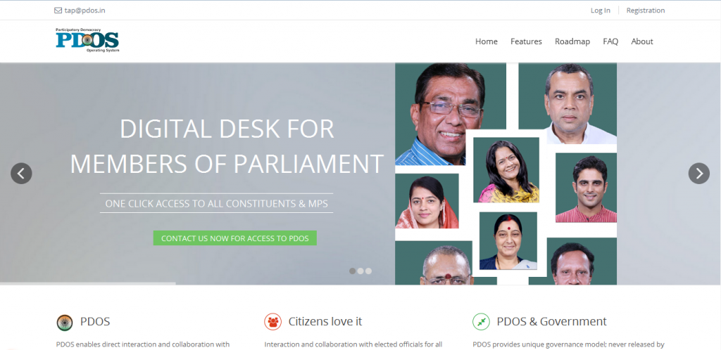 Participatory Democracy Operating System – https://pdos.in